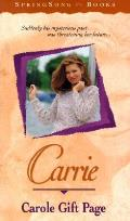 Carrie Springsong Books