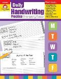 Daily Handwriting Practice Contemporary Cursive