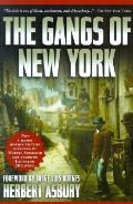 Gangs Of New York An Informal History Of