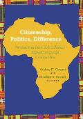 Citizenship, Politics, Difference: Perspectives From Sub-Saharan Signed Language Communities