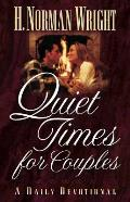 Quiet Times For Couples A Daily Devotion
