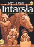 Easy to Make Inlay Wood Projects Intarsia A Complete Manual with Patterns