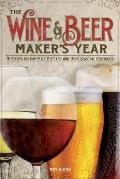The Wine & Beer Maker's Year: 75 Recipes for Homemade Beer and Wine Using Seasonal Ingredients