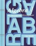 Saxon Algebra 1/2: Student Edition Grade 8 2004