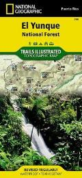 National Geographic Trails Illustrated Map||||El Yunque National Forest