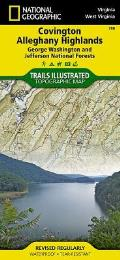 National Geographic Trails Illustrated Map||||Covington, Alleghany Highlands [George Washington and Jefferson National Forests]
