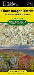National Geographic Trails Illustrated Map||||Clinch Ranger District [Jefferson National Forest]