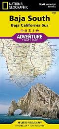 Baja California South Adventure Map