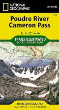 Poudre River / Cameron Pass: Trails Illustrated - Recreation Maps