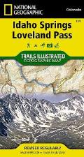 Idaho Springs Loveland Pass National Geographic Trails Illustrated Recreation Maps
