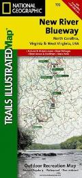National Geographic Trails Illustrated Map||||New River Blueway