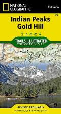 National Geographic Trails Illustrated Map||||Indian Peaks, Gold Hill