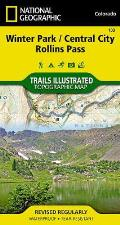 National Geographic Trails Illustrated Map||||Winter Park, Central City, Rollins Pass