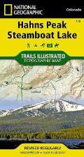 Hahns Peak / Steamboat Lake: Trails Illustrated - Recreation Maps