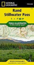 Rand / Stillwater Pass: Trails Illustrated - Recreation Maps