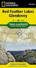 National Geographic Trails Illustrated Map||||Red Feather Lakes, Glendevey
