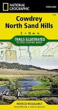 National Geographic Trails Illustrated Map||||Cowdrey, North Sand Hills