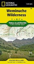 National Geographic Trails Illustrated Map||||Weminuche Wilderness