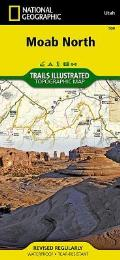 National Geographic Trails Illustrated Map    Moab North