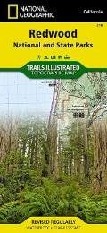 National Geographic Trails Illustrated Map Redwood National and State Parks
