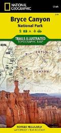 National Geographic Trails Illustrated Map||||Bryce Canyon National Park