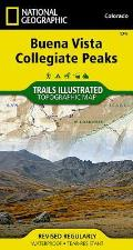 National Geographic Trails Illustrated Map||||Buena Vista, Collegiate Peaks
