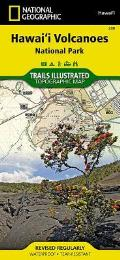 Hawaii Volcanoes National Park Trails Illustrated Map