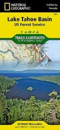 National Geographic Trails Illustrated Map||||Lake Tahoe Basin [US Forest Service]