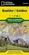 National Geographic Trails Illustrated Map||||Boulder, Golden