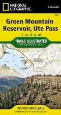 National Geographic Trails Illustrated Map||||Green Mountain Reservoir, Ute Pass