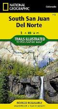 National Geographic Trails Illustrated Map||||South San Juan, Del Norte