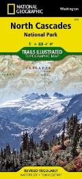 North Cascades National Park Washington Map
