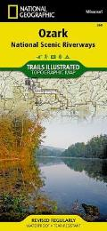 National Geographic Trails Illustrated Map||||Ozark National Scenic Riverways