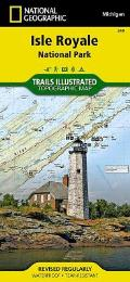 National Geographic Trails Illustrated Map||||Isle Royale National Park