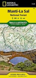 National Geographic Trails Illustrated Map||||Manti-La Sal National Forest