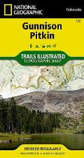 National Geographic Trails Illustrated Map    Gunnison, Pitkin