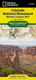 National Geographic Trails Illustrated Map||||Colorado National Monument [McInnis Canyons National Conservation Area]