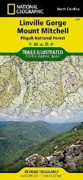 National Geographic Trails Illustrated Map||||Linville Gorge, Mount Mitchell [Pisgah National Forest]