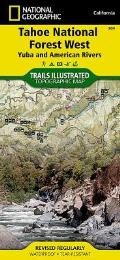 National Geographic Trails Illustrated Map||||Tahoe National Forest West [Yuba and American Rivers]