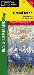 National Geographic Trails Illustrated Map||||Grand Teton National Park