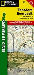 National Geographic Trails Illustrated Map||||Theodore Roosevelt National Park