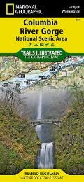 Trails Illustrated Columbia River Gorge National Scenic Area