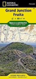 National Geographic Trails Illustrated Map||||Grand Junction, Fruita