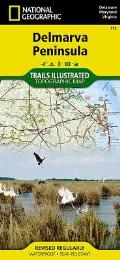 National Geographic Trails Illustrated Map||||Delmarva Peninsula