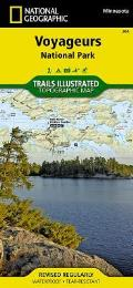 National Geographic Trails Illustrated Map||||Voyageurs National Park