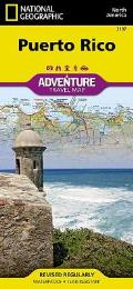 National Geographic Adventure Map||||Puerto Rico