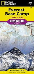 National Geographic Adventure Map||||Everest Base Camp [Nepal]