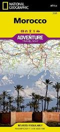 National Geographic Adventure Map||||Morocco
