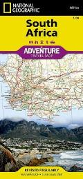 National Geographic Adventure Map||||South Africa