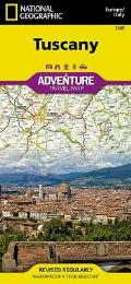 National Geographic Adventure Map||||Tuscany [Italy]